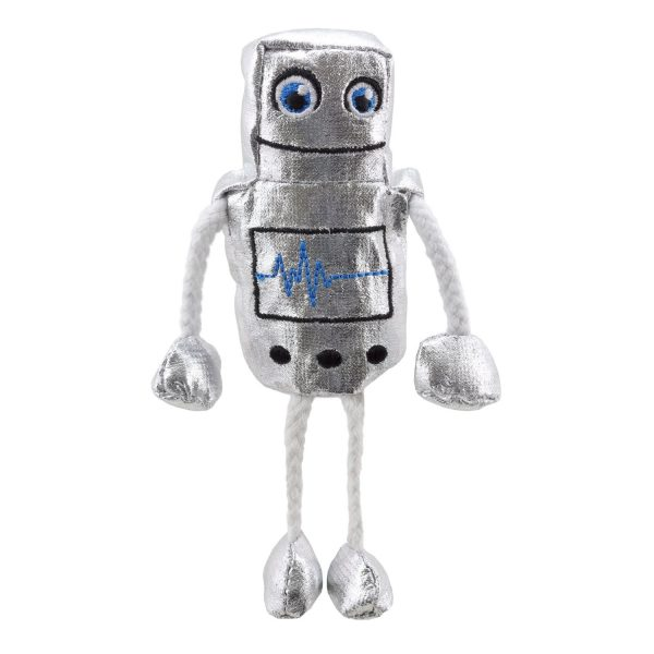 Robot Finger Puppet from The Puppet Company