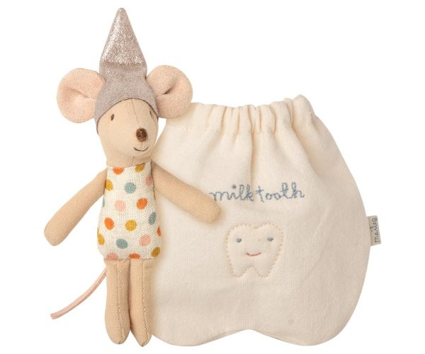 Maileg Little Tooth Fairy with Milk Teeth Bag