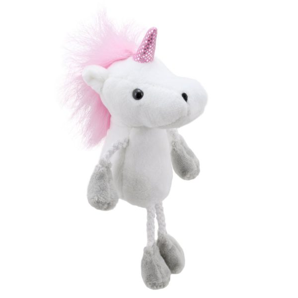 Pink Unicorn Finger Puppet