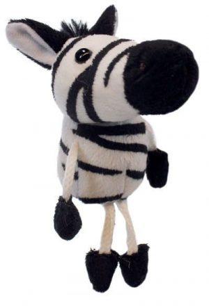 Zebra Animal Finger Puppet